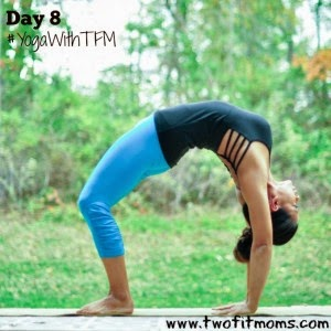 Day 8: Wheel Pose or Urdhva Dhanurasana